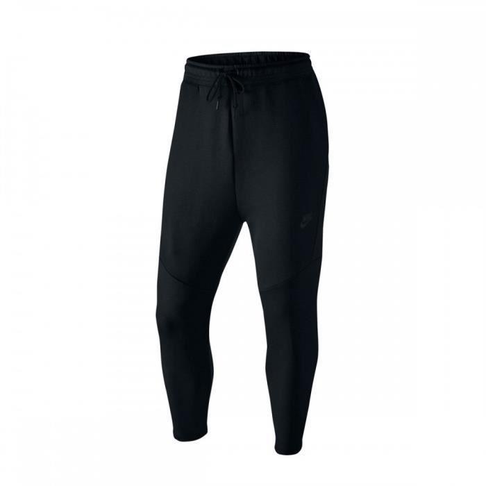 Pantalon de survêtement Nike Tech Fleece Cropped 727355 010 Noir