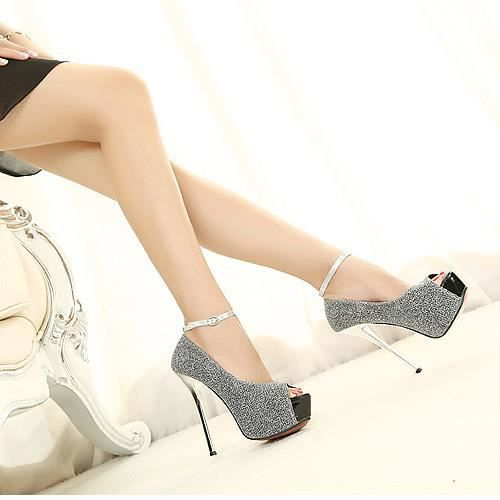 Chaussure Femme sandales à haut talon sexy