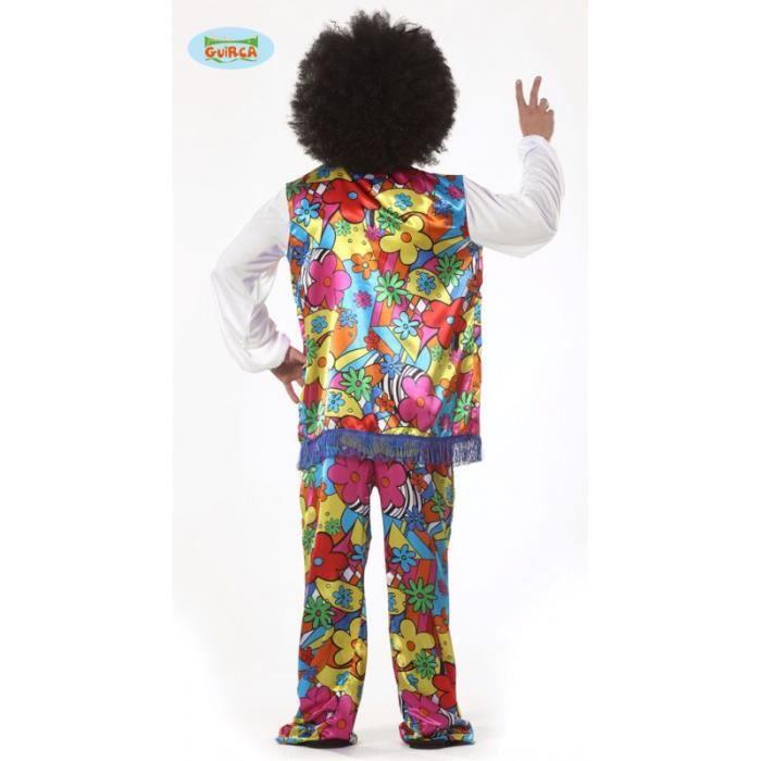 Deguisement Costume Puissance De Fleur Pour Homme Hippie Adulte