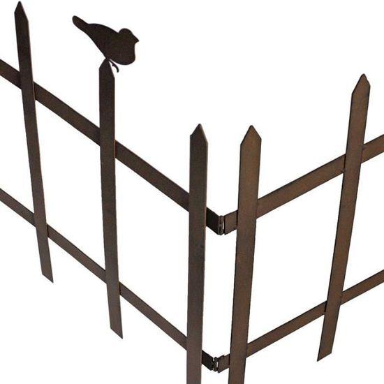 Barrière De Jardin Pliante - Achat / Vente clôture - barrière ...