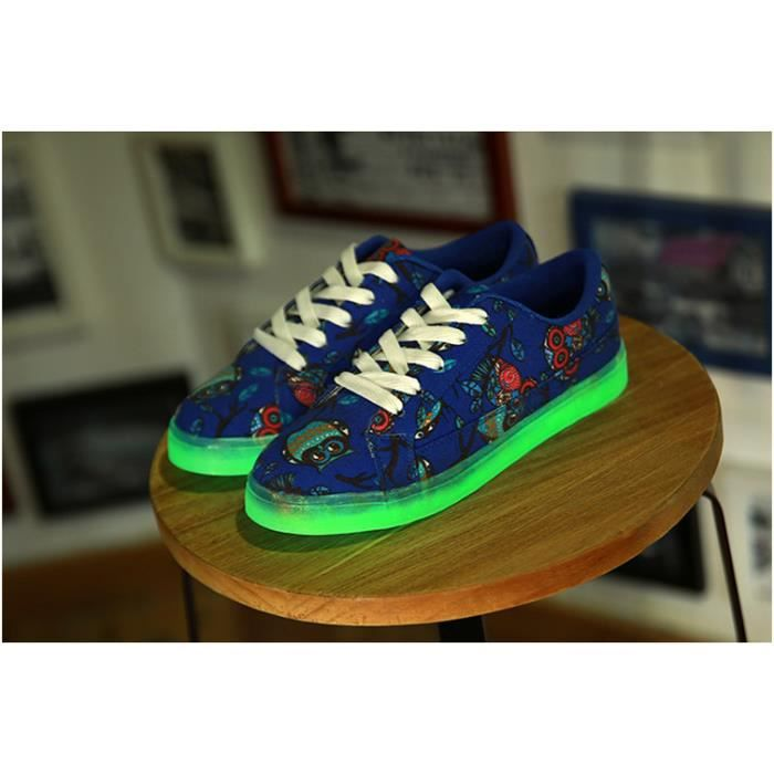 Fluorescence Amant toile Casual Sport Chaussure... k9TWnkdJ4
