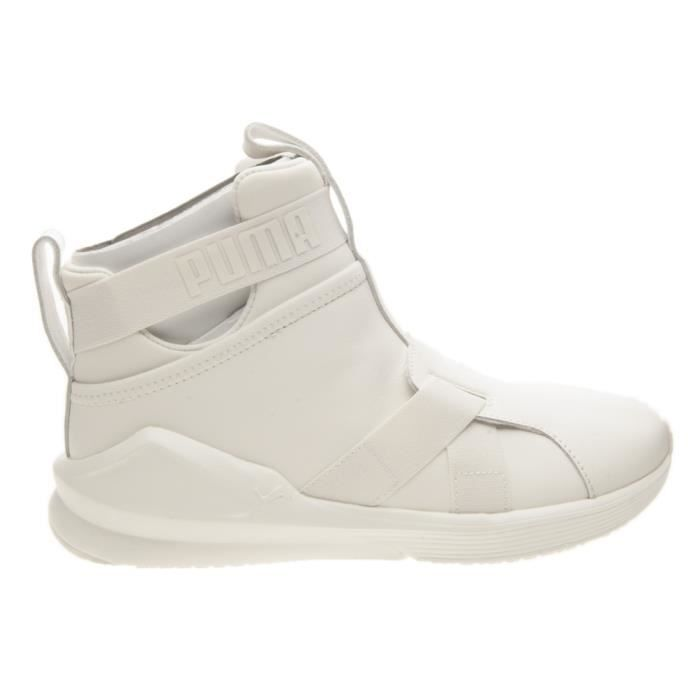 Puma Fierce Wn's Baskets Leather Strap BvxfwP
