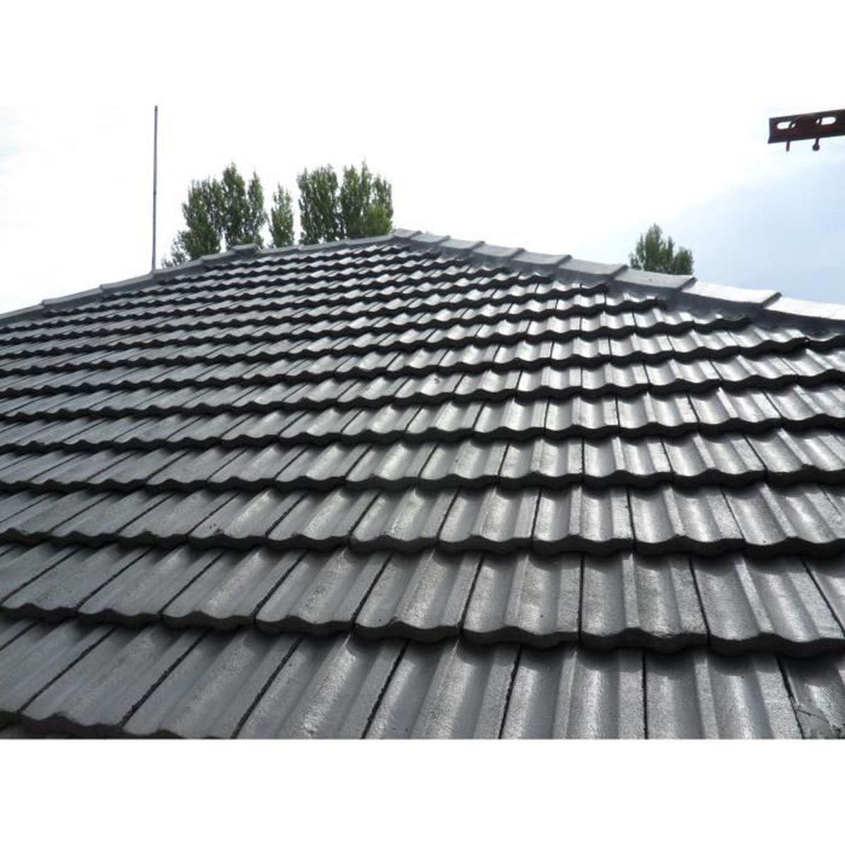 20 litre peinture rev tement toiture toit tuile anthracite achat vente peinture vernis
