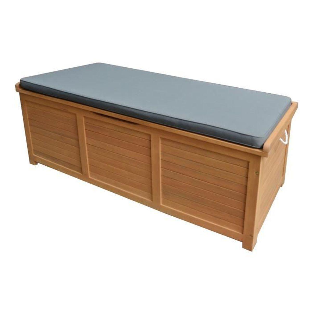 coffre de rangement exterieur bois achat vente pas cher. Black Bedroom Furniture Sets. Home Design Ideas