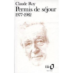 LITTÉRATURE FRANCAISE Livres de bord / Claude Roy Tome 1