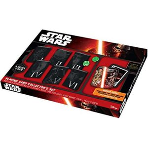 CASQUETTE Star Wars Playing Card Collectors Set in Collectib