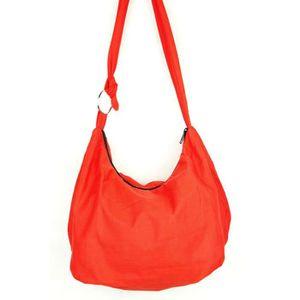 b625206ad0 Sac Bandoulière Ethnique Sac à main Coton Besace bohème Boho Rouge homme  femme fourre tout shoulder bag Red Coton