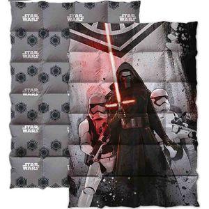 COUETTE STAR WARS Couette imprimée 140x200 cm gris, rouge