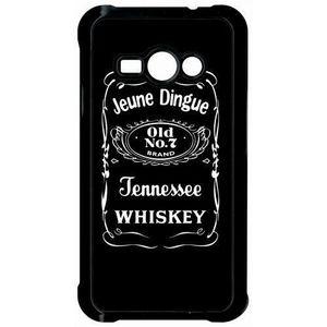 COQUE - BUMPER Coque samsung galaxy j1 ace jeune dingue whisky