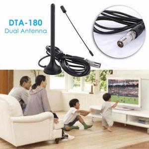 ANTENNE RATEAU Antenne de télévision intérieur HDTV 25M Amplifica
