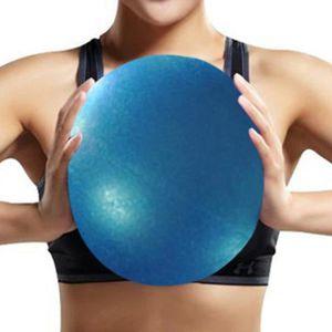 BALLON SUISSE-GYM BALL Balle De Massage De Yoga Bleu 25cm Exercice Pilate