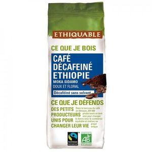 CAFÉ - CHICORÉE ETHIQUABLE - Café décafeiné Ethiopie MOULU bio & é