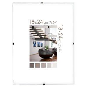 cadre photo en verre achat vente pas cher. Black Bedroom Furniture Sets. Home Design Ideas