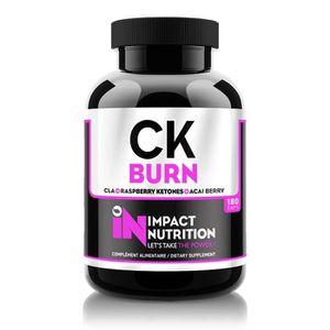 PRODUIT DE SÈCHE CK Burn (180Caps) Impact Nutrition