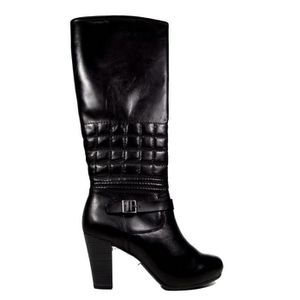 34cdf0cb858e79 BOTTE Bottes hautes en cuir Femme TAMARIS - 25545-21