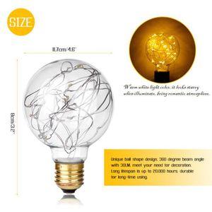 AMPOULE - LED Cru 0.8W Fil de cuivre filament Ampoule à LED G80