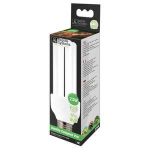 KIT AMÉNAGEMENT TECHNIQ Reptile Systems - Lampe Compact Pro 6% UVB E27 pou