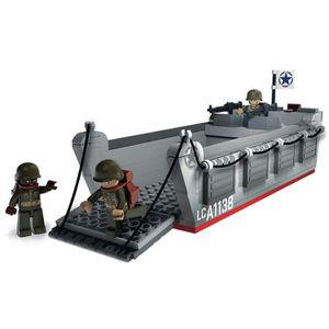 ASSEMBLAGE CONSTRUCTION Briques Compatibles Lego - Construction - WWII - B