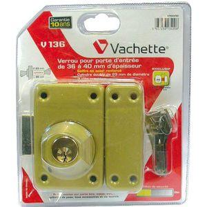 SERRURE - BARILLET Verrous de securite de porte a double cylindre ...