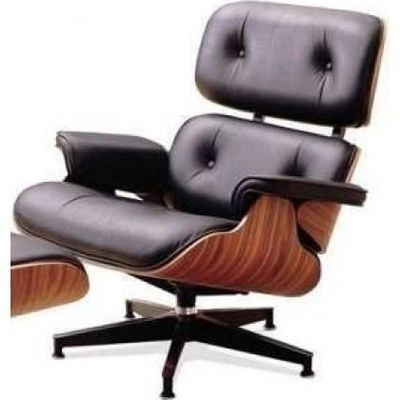 Fauteuil Vente Noir Charles Palissandre Cuir Achat Eames IHYE9WD2