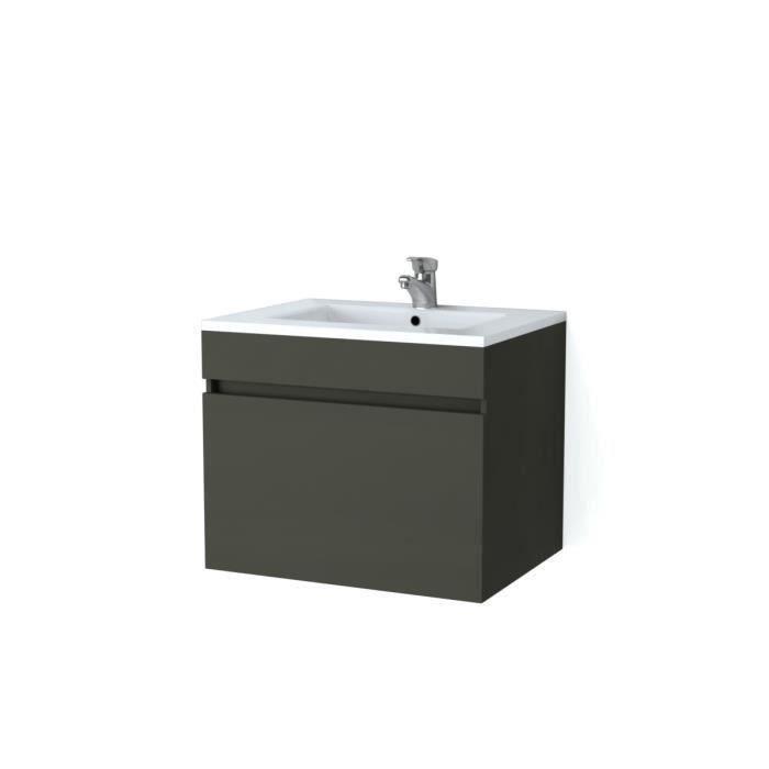 Meuble simple vasque - Achat / Vente pas cher