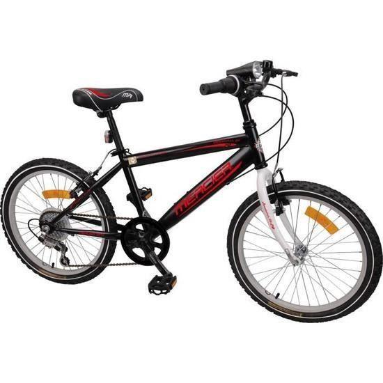 MERCIER Vélo VTT Rigide 20'' - 6 vitesses- Enfant garçon 7/9 ans