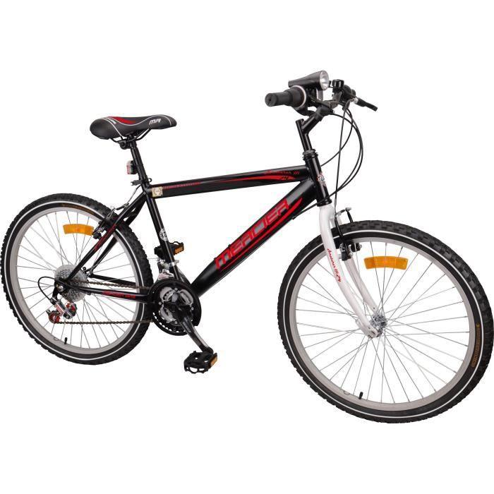 MERCIER Vélo VTT Rigide 24'' - Enfant garçon 9/14 ans