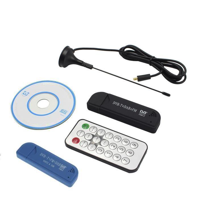 Usb 2.0 Dvb-t Dab Fm Numérique Rtl2832u Fc0013b R820t2 Dts Tv Radio Récepteur Memory Stick @los302