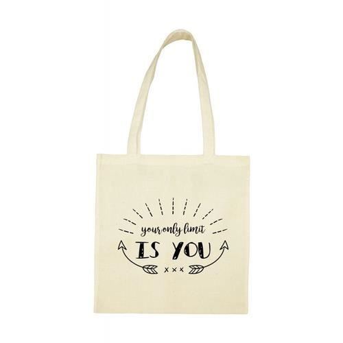 Your Bag You Only Beige Limit Is Tote TUCqSw