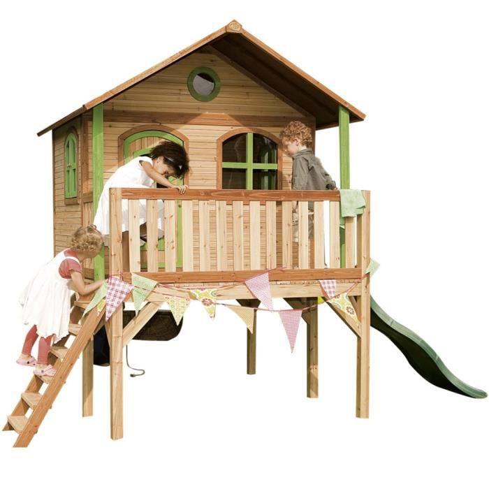 maison de jeu sophie en bois pour enfants axi achat. Black Bedroom Furniture Sets. Home Design Ideas