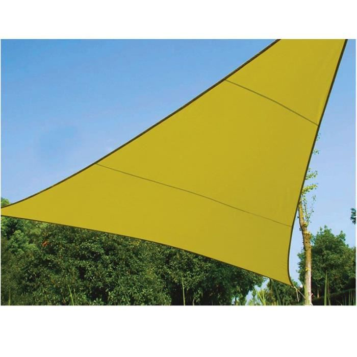Voile d ombrage au mtre trendy voile duombrage x x coloris blanc with voile d ombrage au mtre - Voile d ombrage triangle rectangle ...