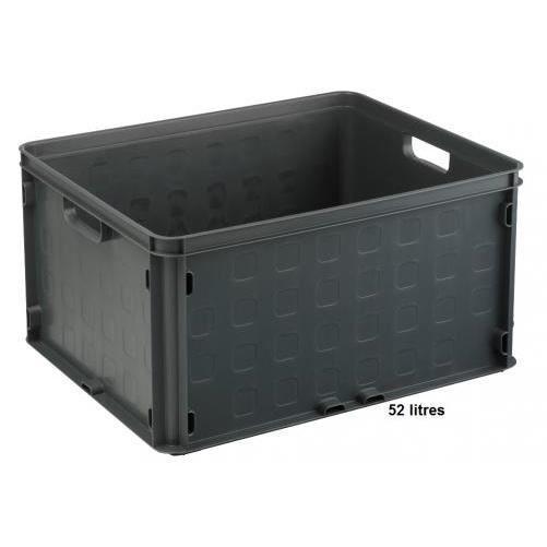 Bac de rangement plastique clipsable 52l achat vente etabli meuble atelier bac de - Bac rangement jouet plastique ...