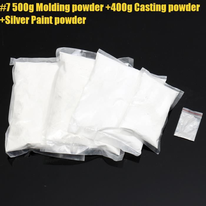 Plâtre 100-500g 3D Plâtre bébé les mains et pieds Coulée