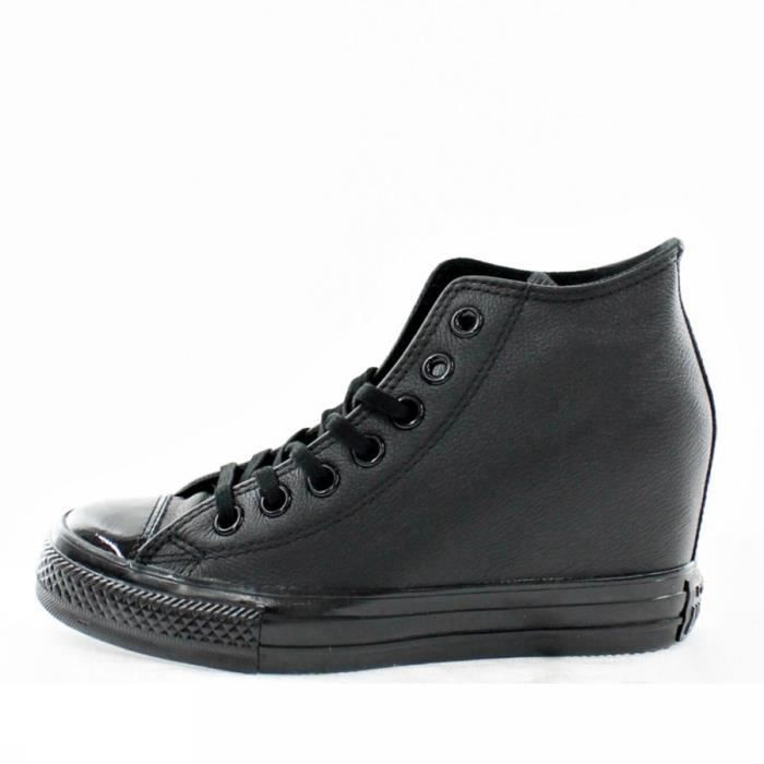 CONVERSE ALL STAR MID LUX LEATHER 550668C MODA FEMME