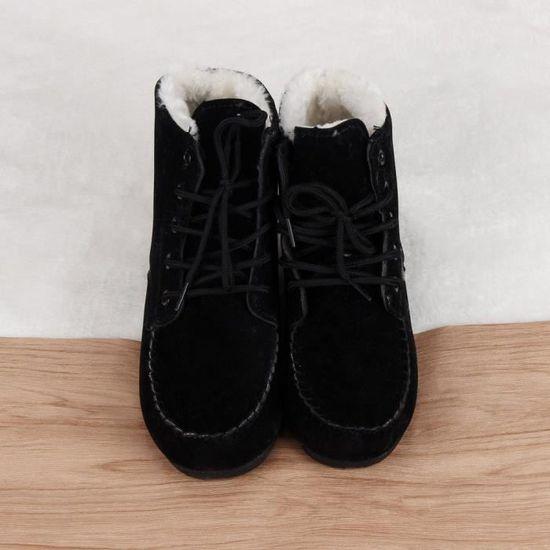 D'hiver Mode Bottes Chaudes Neige Chaussures Classic De New Femmes Courtesnoir qxTpywO