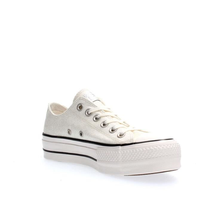 CONVERSE SNEAKERS Femme SILVER, 36