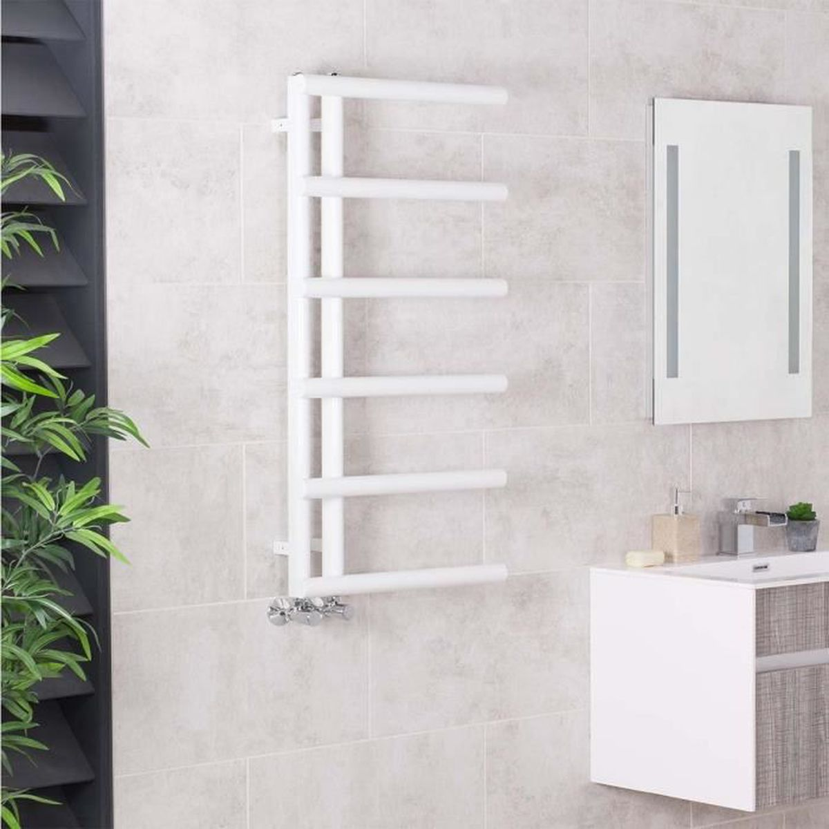 seche serviette eau chaude. Black Bedroom Furniture Sets. Home Design Ideas