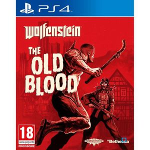 JEU PS4 Wolfenstein The Old Blood Jeu PS4