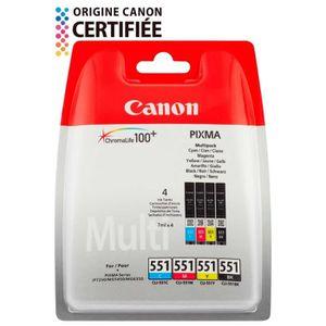CARTOUCHE IMPRIMANTE Cartouches Canon CLI-551 Couleurs