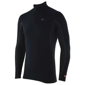 MIZUNO T-shirt Manches Longues Col 1/2 Zip Homme RNG
