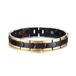 BRACELET - GOURMETTE Bijoux Bracelet homme - 12MM Acier au titane Quatr