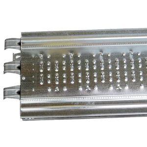 ECHAFAUDAGE Plancher acier Lg 2.50 m x 0.32 m