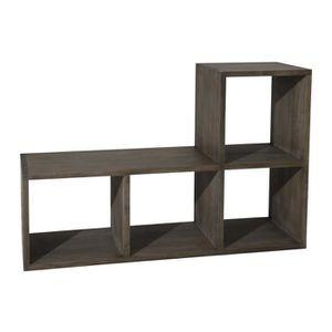 etagere case bois achat vente etagere case bois pas. Black Bedroom Furniture Sets. Home Design Ideas