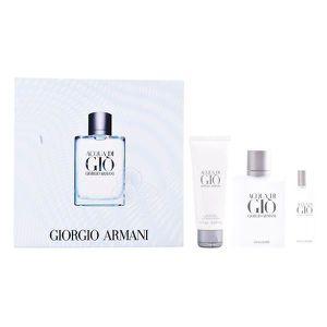 EAU DE TOILETTE Set de Parfum Homme Acqua Di Gio Armani (3 pcs)