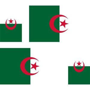 dcoration vhicule 4 autocollant sticker voiture drapeau algerie - Vente Article De Decoration Alger