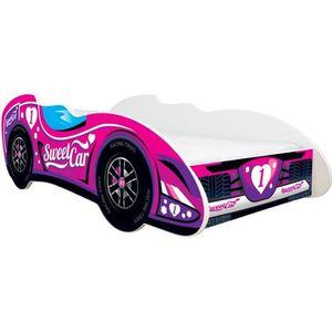 BOUT DE LIT Lit auto Formule 1 - SWEET CAR + matelas 140x70