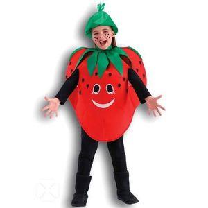 DÉGUISEMENT - PANOPLIE Déguisement de fraise enfant taille unique pour…