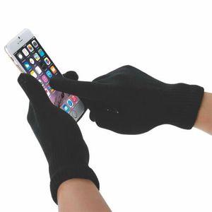 fcd87dc44730 GANT - MITAINE Gants Tactiles pour femmes Noir