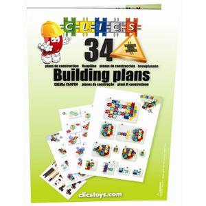 ASSEMBLAGE CONSTRUCTION Bouquin de construction Clics, 72 pages