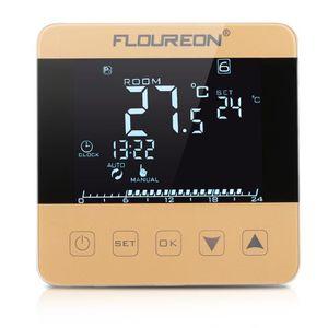 THERMOSTAT D'AMBIANCE Floureon 16A Thermostat de Chauffage LCD Écran Tac